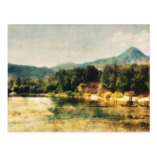 Wenatchee Fluss Postkarte