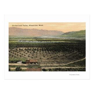 Wenatchee, WashingtonAerial Ansicht eines Postkarte