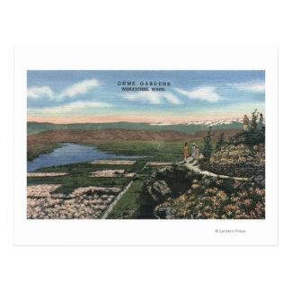 Wenatchee, WashingtonView von Ohme arbeitet # 1 im Postkarte