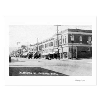 Wenatchee, WashingtonView von Wenatchee Allee Postkarte