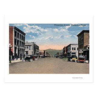 Wenatchee, WashingtonWenatchee Alleen-Szene # 2 Postkarte