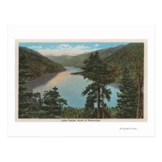 Wenatchee, WAView von See Chelan Postkarte