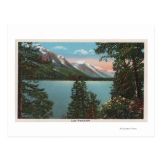 Wenatchee, WAView von See Wenatchee Postkarte