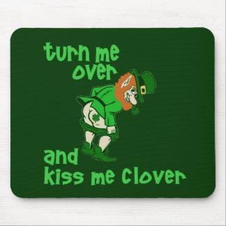 Wenden Sie mich um und küssen Sie mich Klee Mauspad