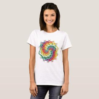 Wendung von Farben T-Shirt
