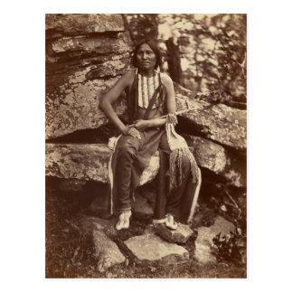 Wenig Bär, Cheyenne, 1875 Postkarte