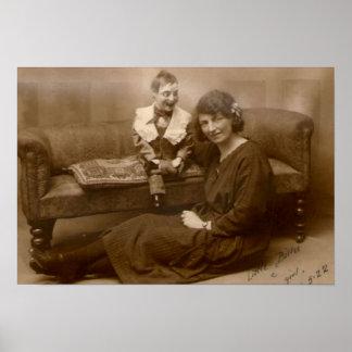Wenig Billee und sein Mädchen 1922 Poster