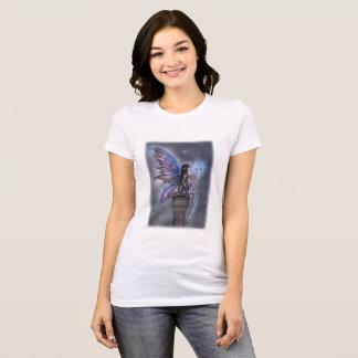 Wenig blauer Mond-magische feenhafte T-Shirt