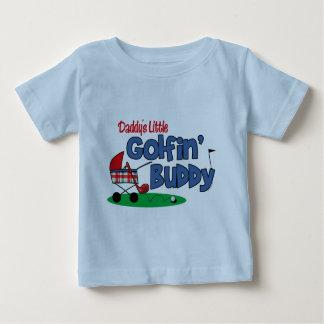 Wenig das Golfin des Vatis Freund Baby T-shirt