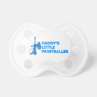 Wenig das Paintballer des Vatis Junge Baby Schnuller