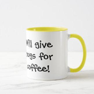 Wenig Ducky: Gibt Umarmungen für Kaffee! Tasse