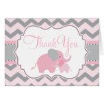 Wenig Erdnuss-Babyparty danken Ihnen Anmerkungen Mitteilungskarte