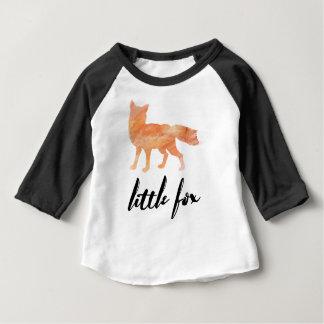 Wenig Fox-Baby-Baseball-T-Shirt Baby T-shirt