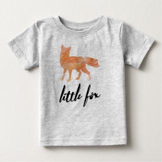 Wenig Fox-Baby-T-Shirt Grau Baby T-shirt