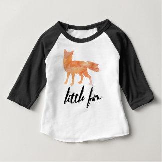 Wenig Fox scherzt Baseball-Shirt Baby T-shirt