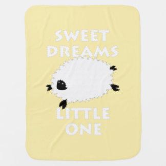 Wenig Gelb der süßen Träume oder wählen jede Babydecke