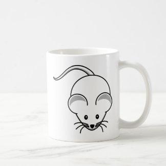 Wenig grafische Maus Kaffeetasse