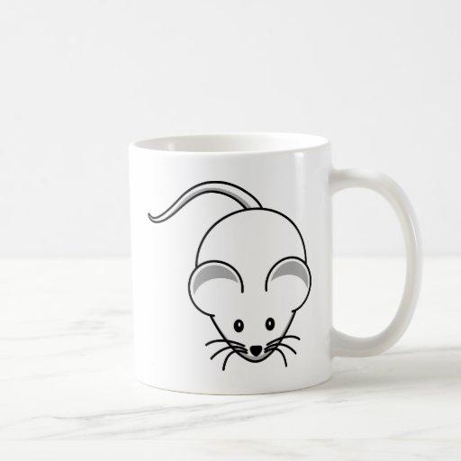 Wenig grafische Maus Tee Haferl