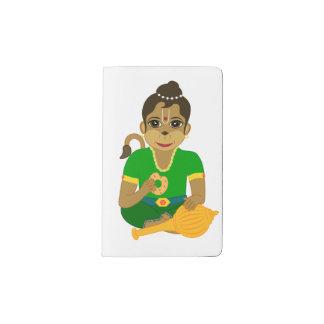 Wenig Hanuman Moleskine Taschennotizbuch