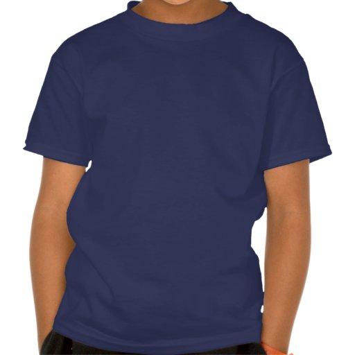 Wenig Häschen in den blauen Hosen schreibt blaues  T Shirt