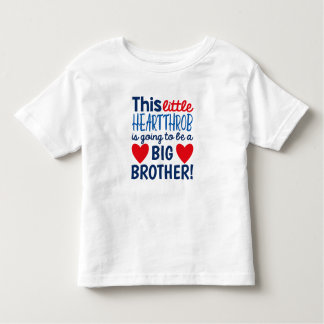 Wenig Heartthrob-Schwangerschafts-Mitteilungs-T - Kleinkind T-shirt