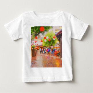 Wenig japanische Dorf Tokyos Malerei Baby T-shirt