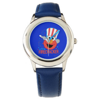 Wenig Kracher Elmo Armbanduhr