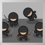 Wenig Ninjas Plakat