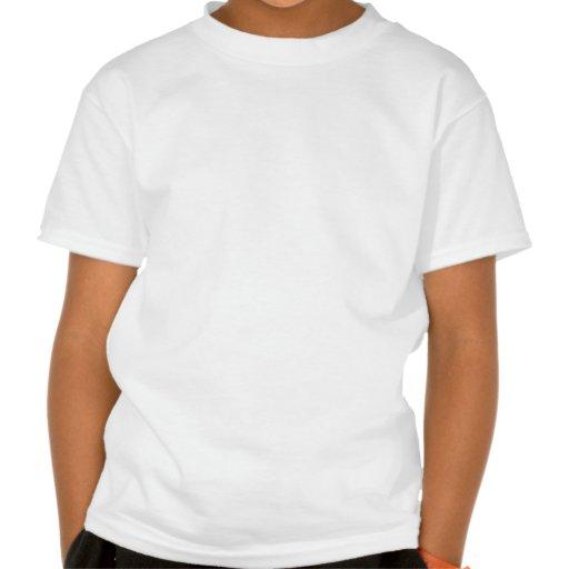 Wenig orange Frucht-Mädchen Shirts