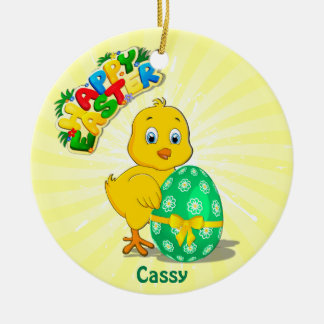 Wenig Ostern-Huhn-Cartoon Keramik Ornament