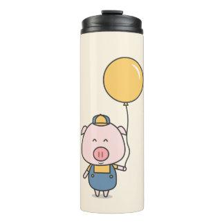 Wenig Piggy Kawaii Thermaltrommel Thermosbecher