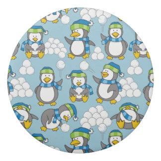 Wenig Pinguinhintergrund Radiergummi