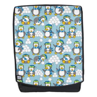 Wenig Pinguinhintergrund Rucksack