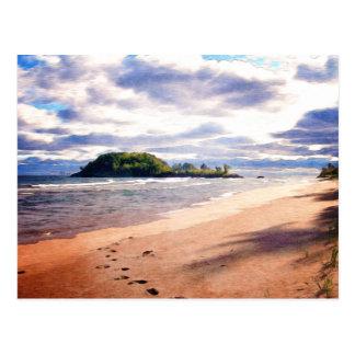 Wenig Presque Insel Postkarte