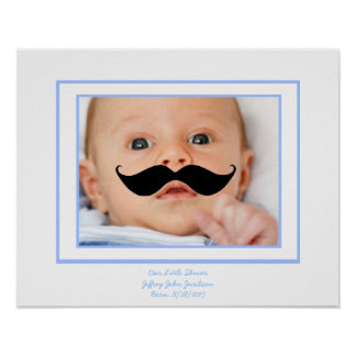 Wenig Rasierapparat-kundenspezifisches Baby-Plakat Poster