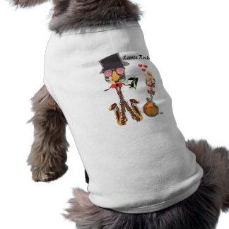 Wenig Rocker-Haustier-T-Stück Ärmelfreies Hunde-Shirt