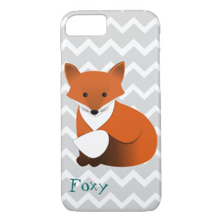 Wenig roter Fox-Entwurf iPhone 8/7 Hülle