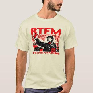 Wenig rotes Buch RTFM Maos T-Shirt