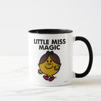 Wenig schwarze Beschriftung Fräulein-Magic | Tasse