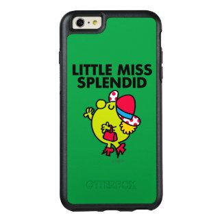 Wenig schwarze Beschriftung Fräulein-Splendid | OtterBox iPhone 6/6s Plus Hülle