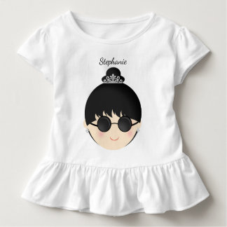 Wenig schwarzer KleiderSoiree Kleinkind T-shirt