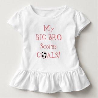 Wenig SIS… Mein großes Bro zählt Ziele! Kleinkind T-shirt