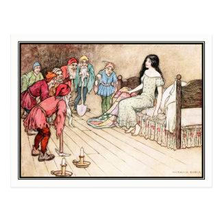 Wenig Snowdrop durch Warwick Goble Postkarte