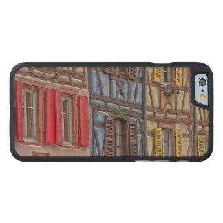 Wenig Venedig in Colmar Carved® iPhone 6 Hülle Ahorn