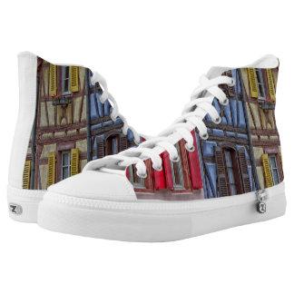 Wenig Venedig in Colmar Hoch-geschnittene Sneaker