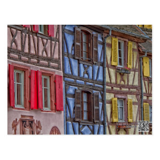Wenig Venedig in Colmar Postkarte