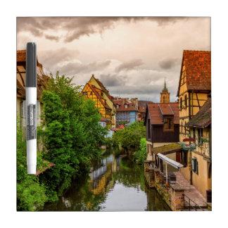 Wenig Venedig, zierliches Venise, in Colmar, Memoboard