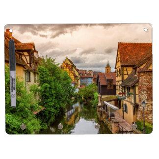 Wenig Venedig, zierliches Venise, in Colmar, Trockenlöschtafel Mit Schlüsselanhängern