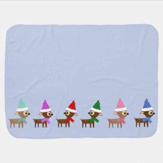 Wenig Weihnachtsren Puckdecke