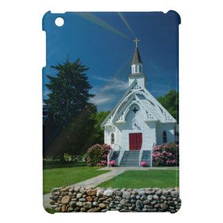 Wenig weiße Kirche Hülle Für iPad Mini